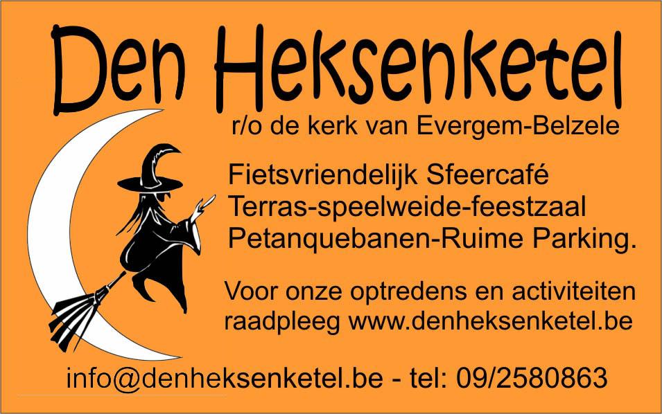 Logo van café Den Heksenketel
