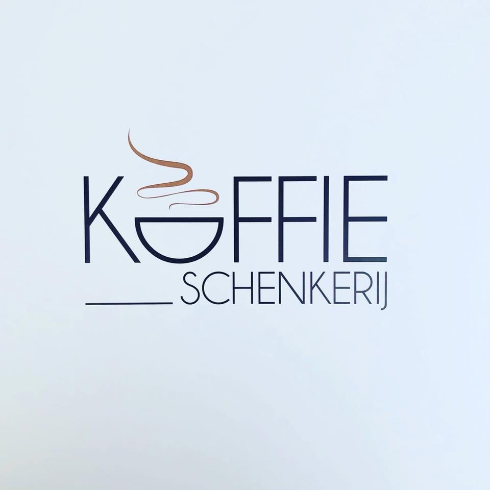 Logo van De Koffieschenkerij & Chocolaterie De Naeyer