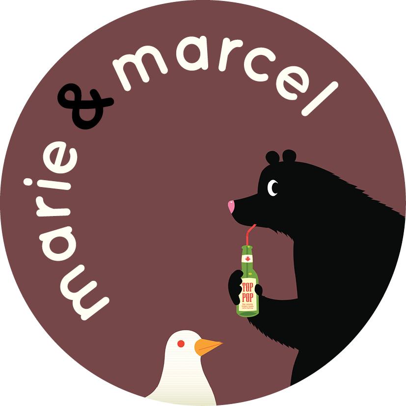 Logo van Marie & Marcel