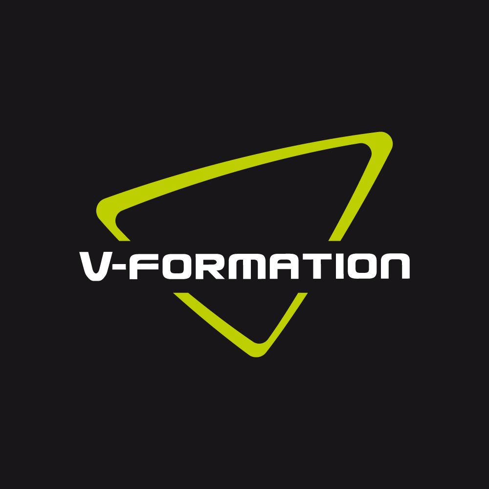 Logo van V-Formation Teambuilding en Springkastelen