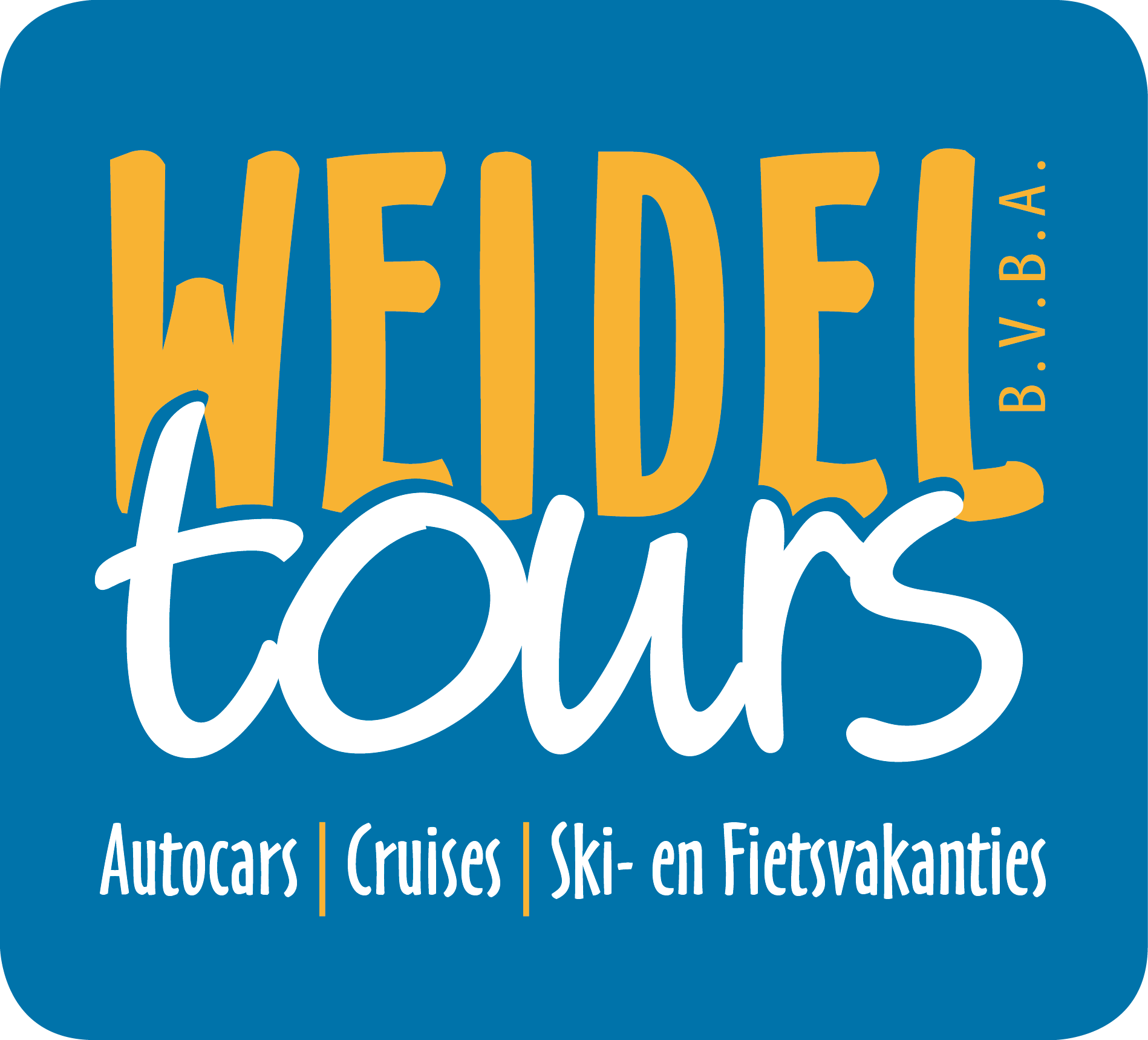 Logo van Weidel Tours