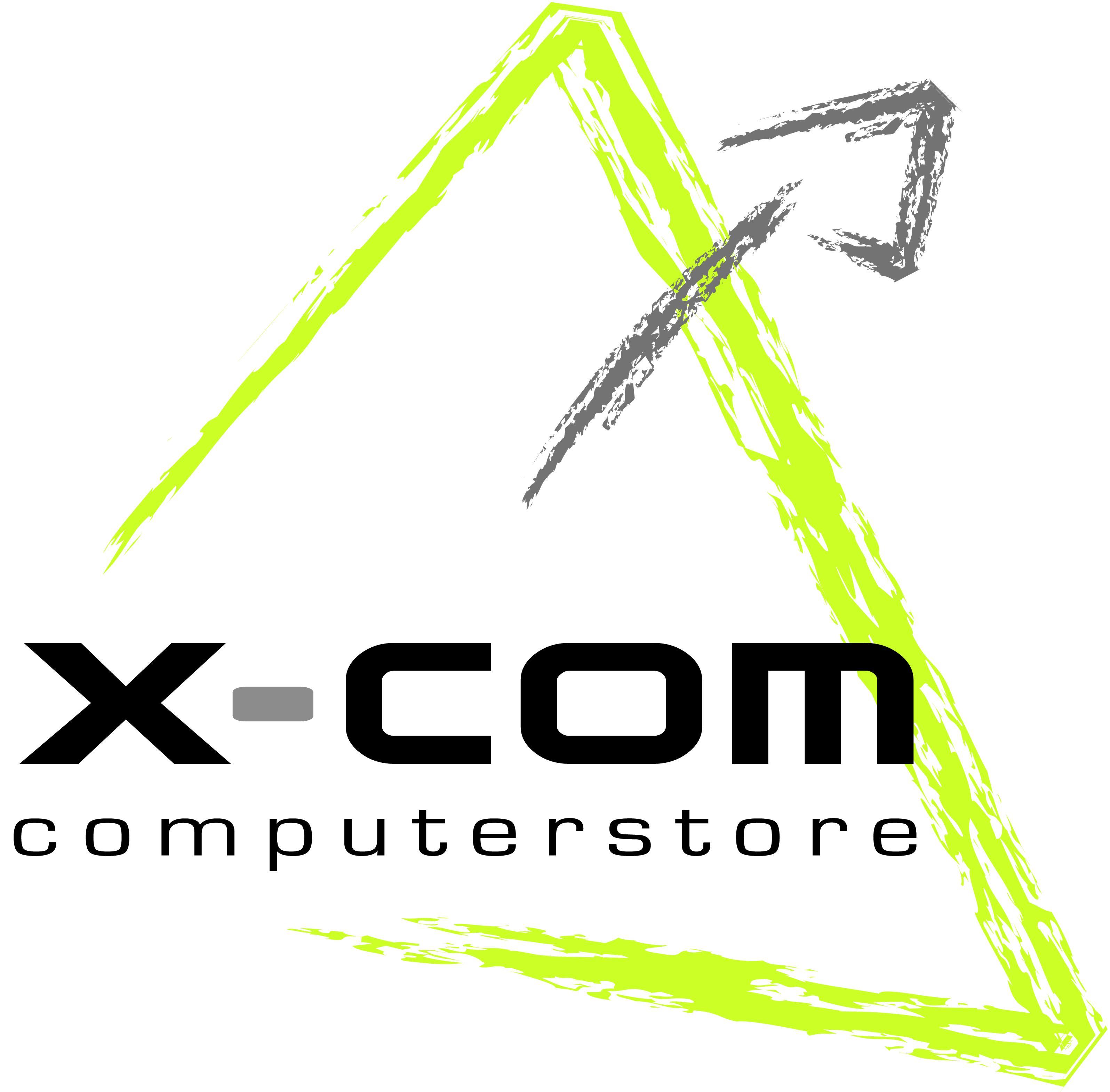 Logo van X-COM hard-en software